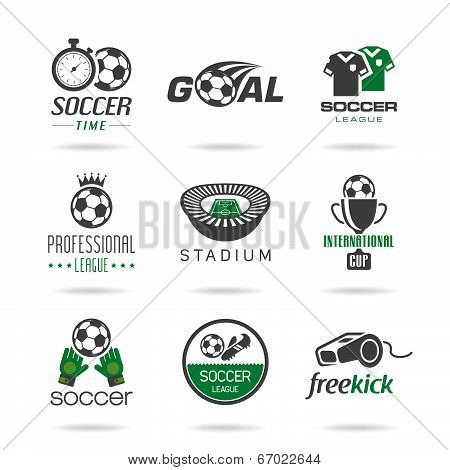 Soccer icon set - 3