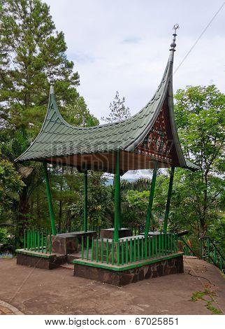 Minangkabau Pavilion In Fort De Kock. Bukittinggi. Indonesia