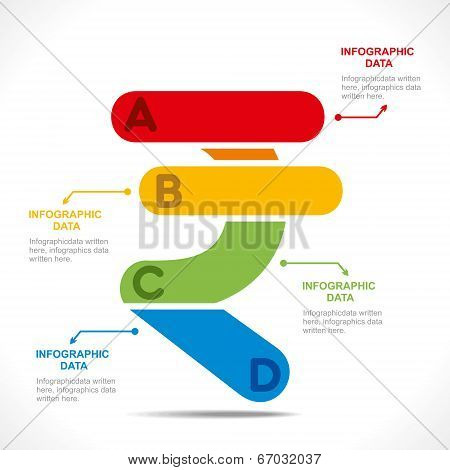 creative rupee currency symbol info-graphics concept vector