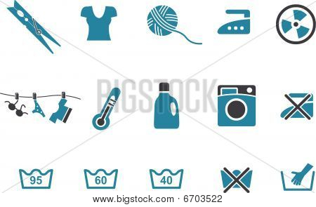 Washing machine Icon Set