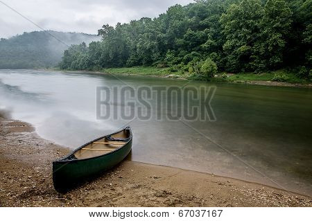Rainy Day On Buffalo River