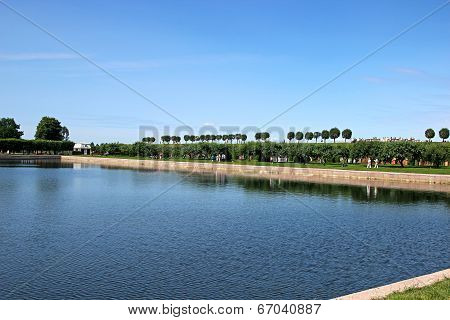 Marley Pond In Peterhof