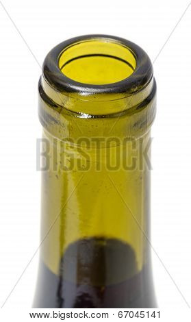 Opened Wine Bottleneck