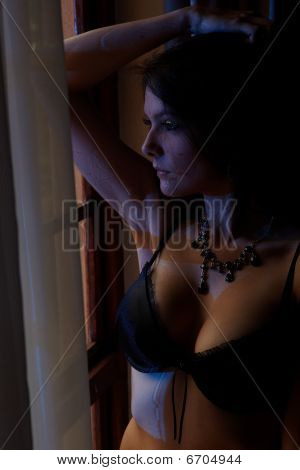 Woman In Lingerie