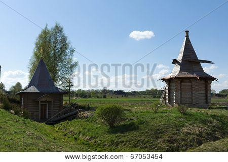 Church Under Blue Sky