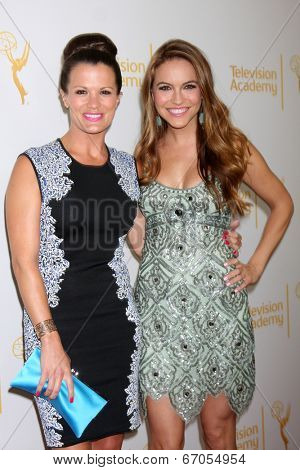 LOS ANGELES - JUN 19:  Melissa Claire Egan, Chrishell Stause at the ATAS Daytime Emmy Nominees Reception at the London Hotel on June 19, 2014 in West Hollywood, CA