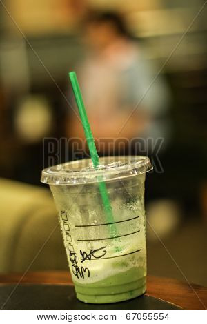 Emtry Frappe Green Tea
