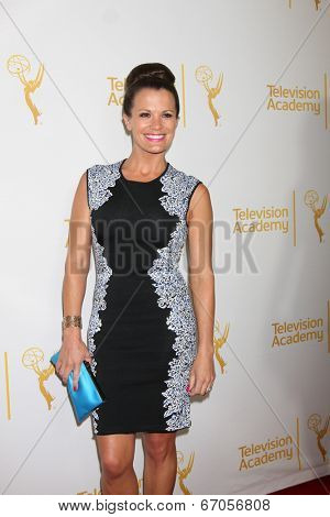 LOS ANGELES - JUN 19:  Melissa Claire Egan at the ATAS Daytime Emmy Nominees Reception at the London Hotel on June 19, 2014 in West Hollywood, CA