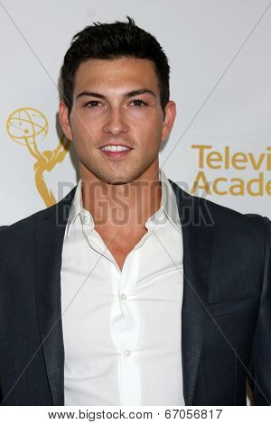 LOS ANGELES - JUN 19:  Rob Scott Wilson at the ATAS Daytime Emmy Nominees Reception at the London Hotel on June 19, 2014 in West Hollywood, CA