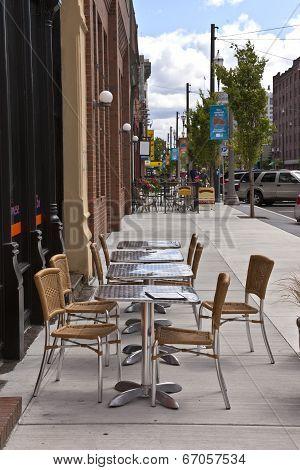 Outdoor Seating Tacoma Washington.