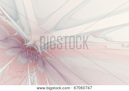 An interesting unusual geometric abstract background in soft lilac tones