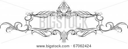 32_vector Frame With Floral Elements For Registration 9