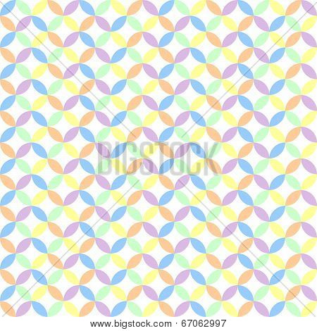 Circle Pastel Background