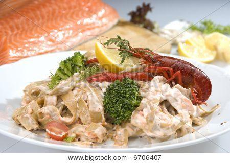 italienischen Meeresfrüchte pasta