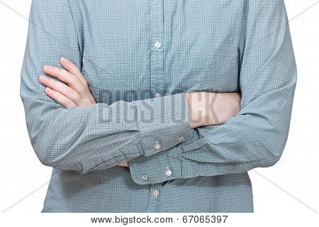 Folded Arms - Hand Gesture