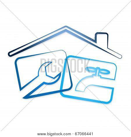 Repair plumbing in the house