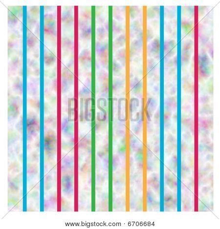 Striped Tie-Dye Wallpaper