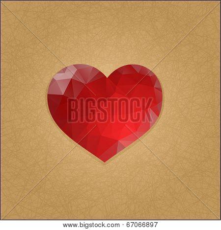 heart, mosaic