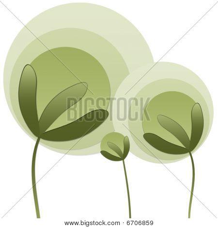 abstrakt Pflanzen