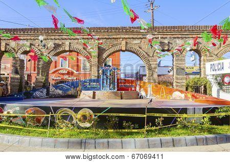 Plaza Santa Cecilia, Tijuana, Mexico
