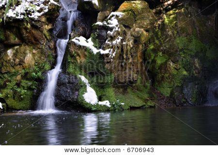 Fairy Glen Waterfall