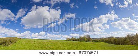 Idyllic Rural Landscape, Cotswolds Uk