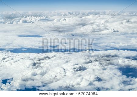 Views Of The Clouds From A Height