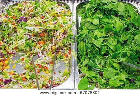 Lattuce and salad