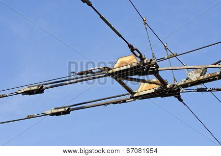Trolley Trolleybus Electricity Cable Construction