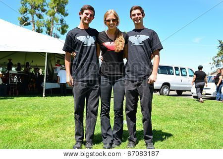 Three Young UFW Workers