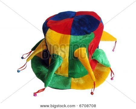 hat with jingles