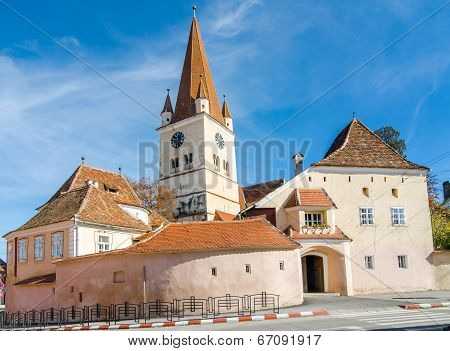 Evangelical Fortified Church in Cisnadie, Romania