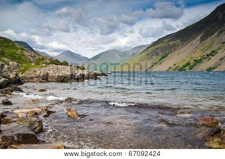 Wast Water, Lake District, Uk