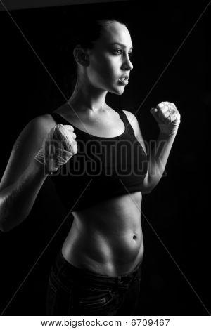 Toned Female Fitness Body
