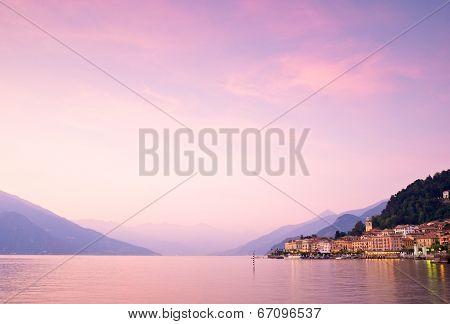 Bellagio On Lake Como In Italy