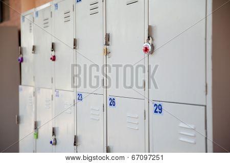 Outdoor School Lockers