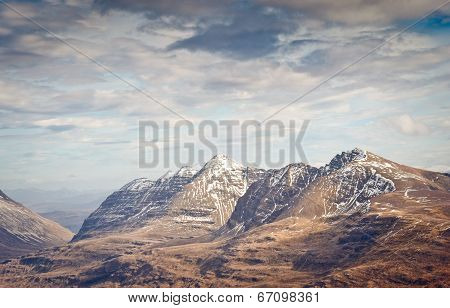 Snowcapped Mountain, Scotland
