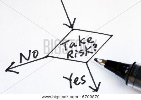 Asumir el riesgo o no