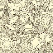 picture of black tea  - Coffee Sketchy Notebook Doodles - JPG