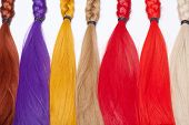 foto of hair integrations  - Artificial Hair Used for Production of Wigs and Extensions - JPG