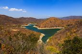 picture of hydroelectric  - Lake in the the high mountain at Binh Thuan - JPG