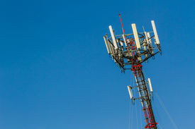 picture of antenna  - Mobile phone Telecommunication Radio antenna Tower - JPG