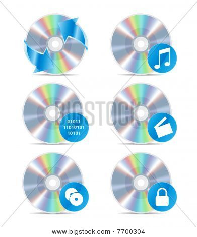 Cd Icon Set 3