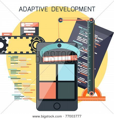 Icons for adaptive development