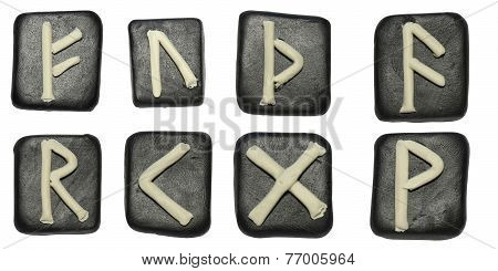 Tiles With Runes Set