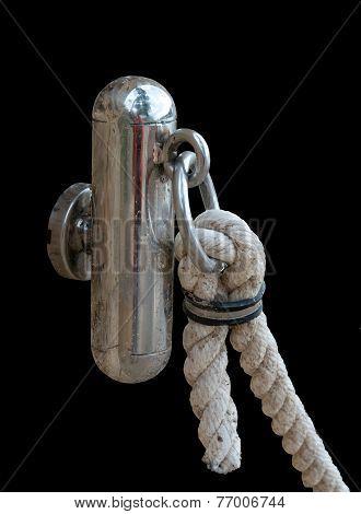 Marine metal and rope