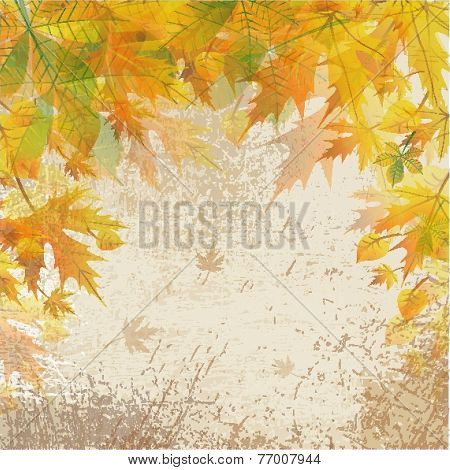 Autumn Vintage Background