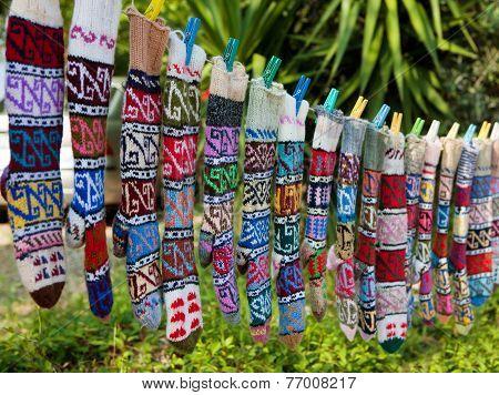 Figured Stockings