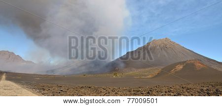 Volcano Eruption In Fogo
