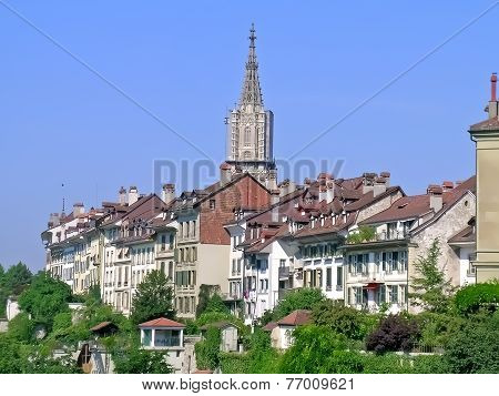 Residential area in Bern